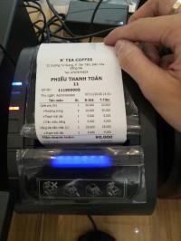 Máy in hóa đơn cho các cửa hàng