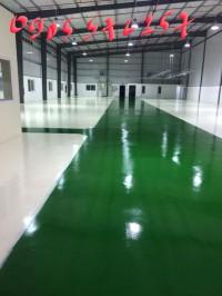 Sơn epoxy sàn công nghiệp thi công tại huế