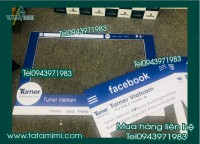 Thiết kế in hashtag sự kiện, khung chụp hình facebook