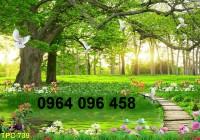 Tranh 3d phong cảnh thiên nhiên- gạch tranh 3d