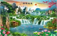 Tranh phong cảnh 3d - tranh thiên nhiên