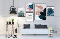 Tranh treo tường canvas đẹp hcm