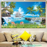 Tranh treo tường canvas giá rẻ