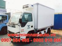 xe tải isuzu 1.4 tấn qkr55f thùng đông lạnh