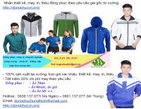 Xưởng may áo gió đồng phục công ty giá rẻ quận 12